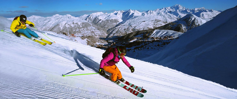 Station de ski de La Plagne, domaine Paradiski